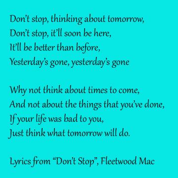 Don't Stop lyrics