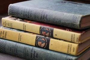 My mom's Nancy Drew books
