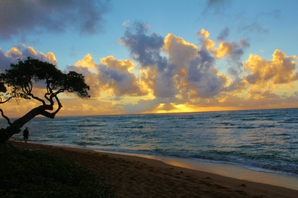 Sunrise on our last morning on Kauai (800x533)