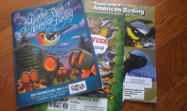 Visitors' Guides to the BWIAB for the past three years. (I missed the first year.)