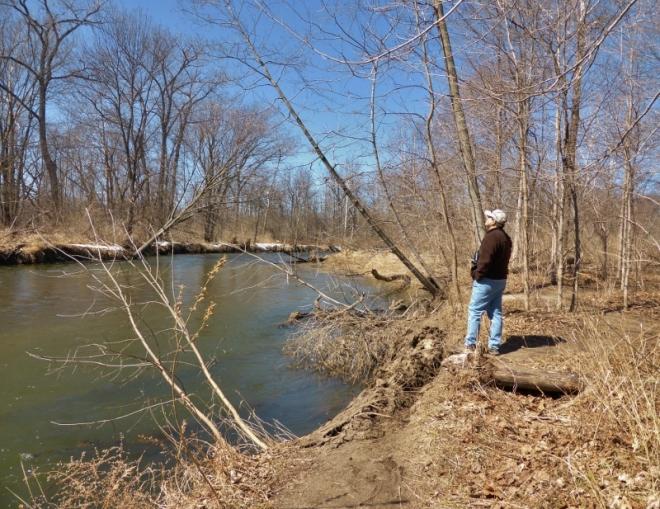 Clinton River -- no more ice!!