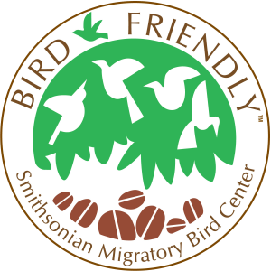Smithsonian bird-friendly-logo