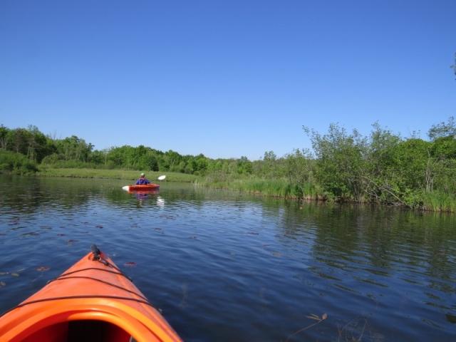 Kayaking on Big Seven Lake