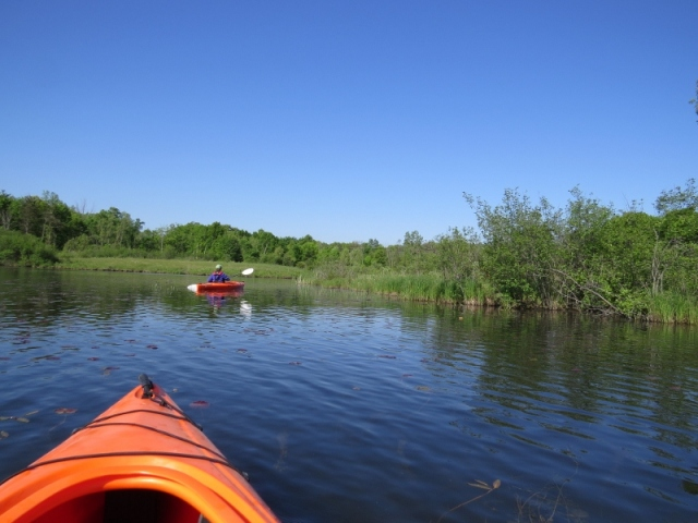Kayaking on Big Seven Lake