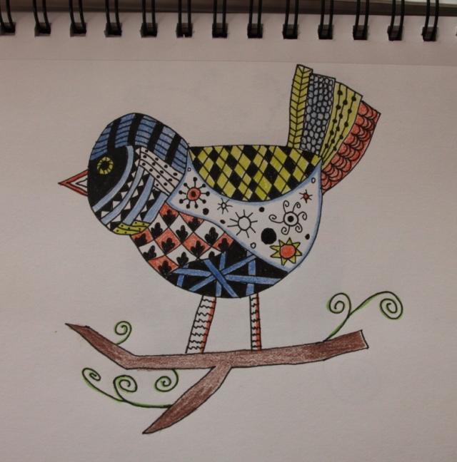 Kim's Doodle Bird