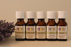 I use these essential oils in an electric diffuser.