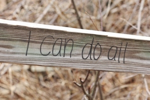 Graffiti - I can do all