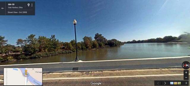 Portage River in Oak Harbor, Ohio