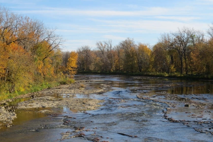 Sandusky River seen from the Tindall Bridge