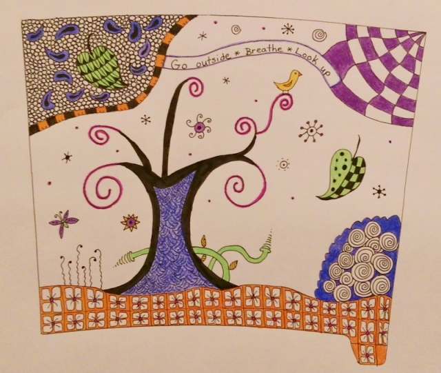 Zentangle drawing for travel mug insert (800x677)