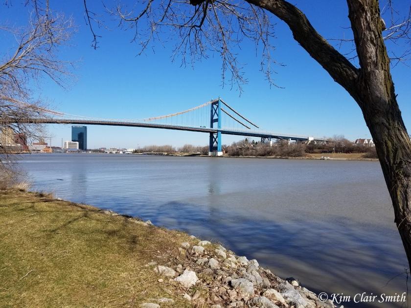 Anthony Wayne Bridge over Maumee River